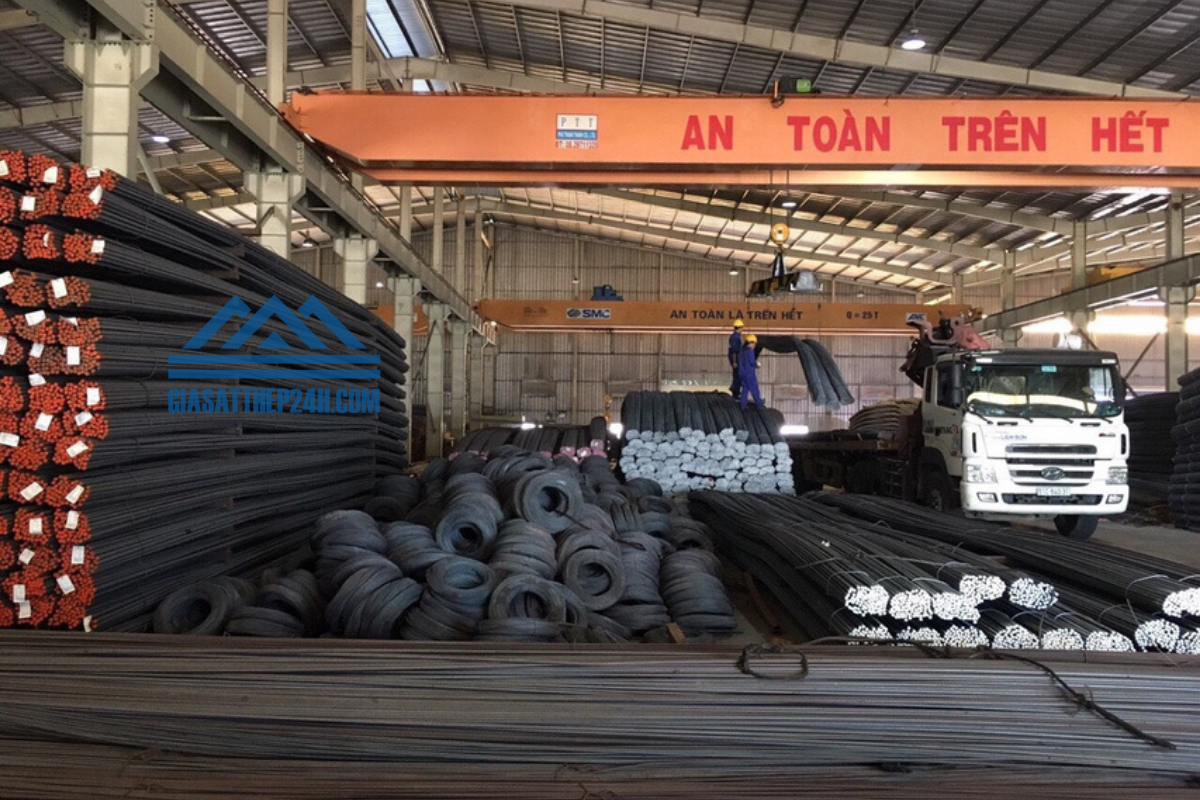 hệ thống cơ sở cung cấp thép Việt Úc của Giá Sắt Thép 24h khá rộng rãi trên toàn quốc