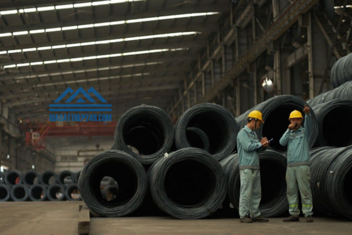 Thành lập từ năm 1994, từ đó đến nay, công ty sản xuất thép Việt Úc hàng năm đã cung cấp ra ngoài thị trường hơn 250.000 tấn.