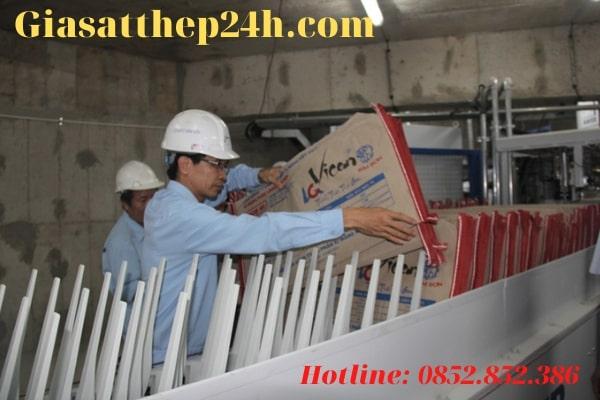 Xi măng Bỉm Sơn được xuất khẩu khá nhiều