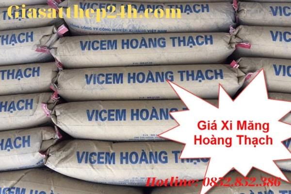 Xi măng Hoàng Thạch đã tăng thêm 5000đ/tấn