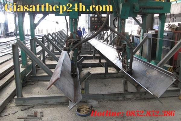 Giá Sắt Thép 24h là đơn vị phân phối sắt thép uy tín