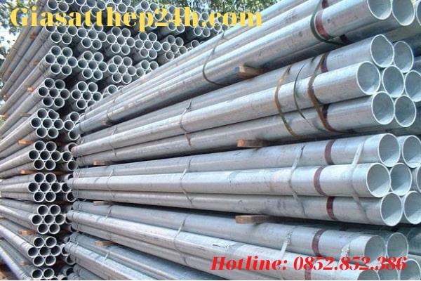 Thép ống mạ kẽm là một loại vật tư xây dựng phổ biến