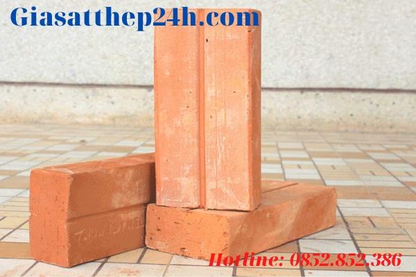 Giá gạch chỉ 6 5x10 5x22đặc loại 65 x 105 x 220 (+-5) mác 75# loại A