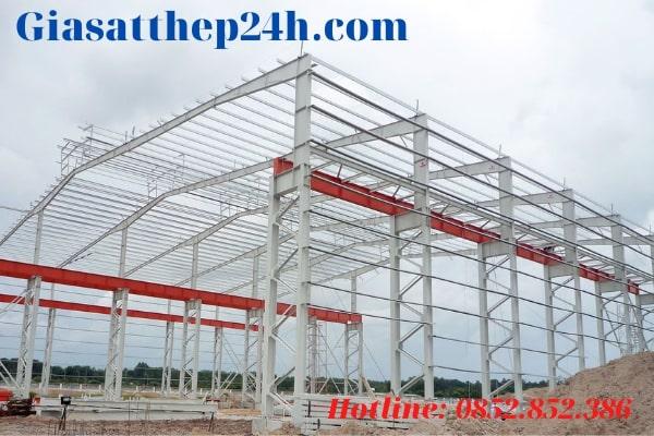 Giasatthep24h.com - Đơn vị cung cấp xà gồ thép uy tín