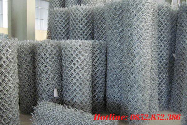 Dây lưới thép được mạ kẽm nhúng nóng là nguyên liệu chính để sản xuất ra lưới B40 mạ kẽm