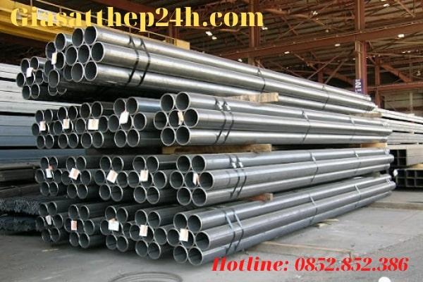 Thép ống tròn có đặc tính bền bỉ, cứng vững