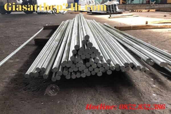 Thép tròn trơn thường được sử dụng trong cơ khí chế tạo hơn là ứng dụng ở các công trình xây dựng