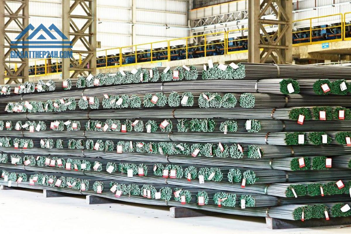 Thép Miền Nam được sản xuất bởi công ty thép Miền Nam Vnstell